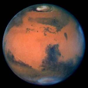 planéta Mars skleným okom Hubblovho ďalekohľadu
