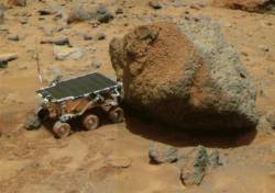 pojazdný robot Sojournerová
