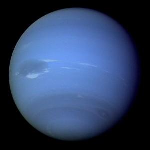 planéta Neptún s Veľkou tmavou škvrnou